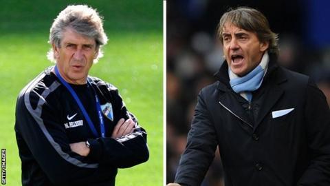 Manuel Pellegrini, Roberto Mancini