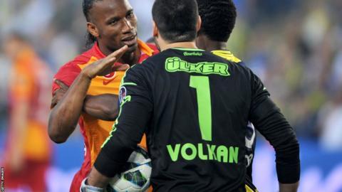 Galatasaray's Didier Drogba
