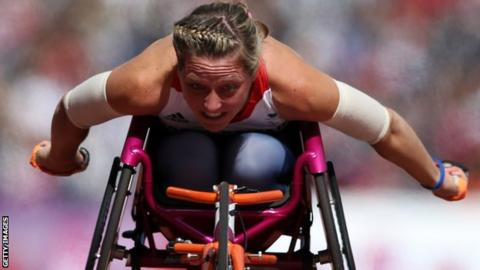 Mel Nicholls Mel Nicholls Paralympian shocked by 1500m world record BBC Sport