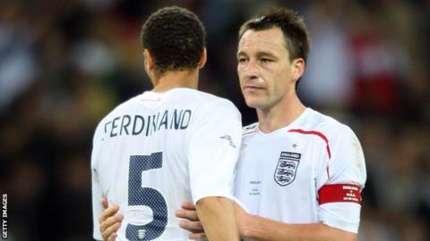 Rio Ferdinand and John Terry