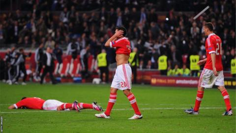 Benfica players