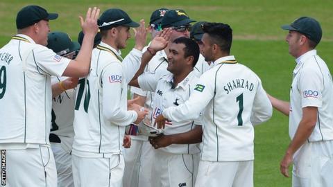 Nottinghamshire bowlers