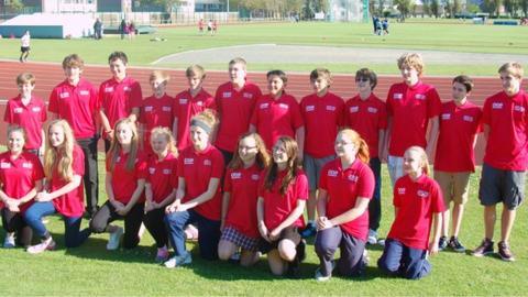 Jersey's Jeux des Iles team 2013