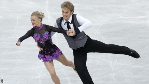Penny Coomes and Nick Buckland