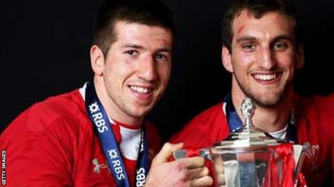 Justin Tipuric and Sam Warburton