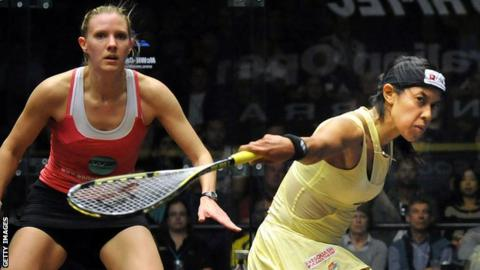 Laura Massaro Nicol David