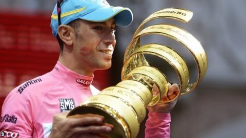 2013 Giro d'Italia winner Vincenzo Nibali
