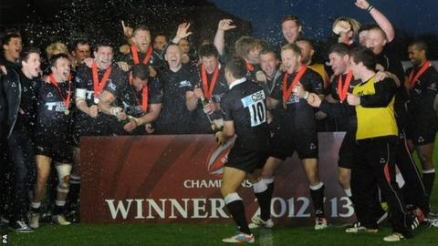 Newcastle celebrate promotion