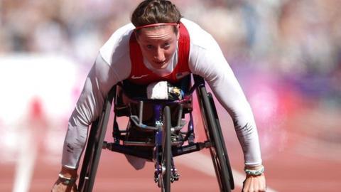 Wheelchair racer Tatyana McFadden
