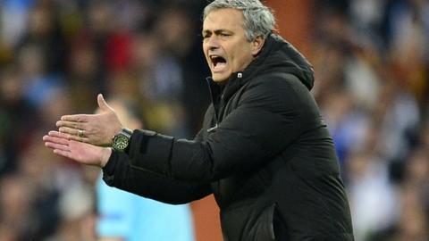 Former Real Madrid manager Jose Mourinho