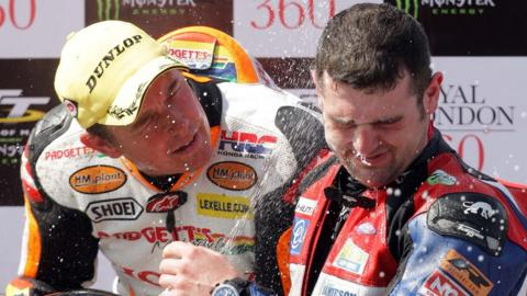 John McGuinness and Michael Dunlop