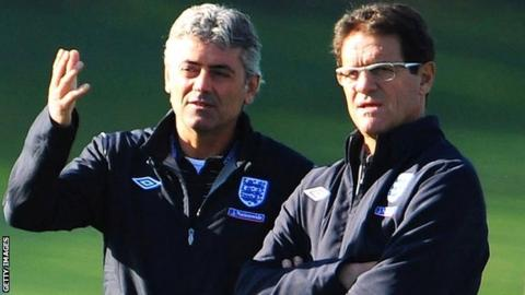 Franco Baldini and Fabio Capello