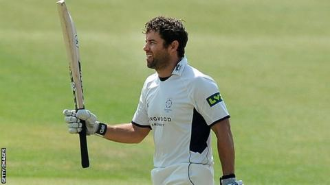 Neil McKenzie celebrates his century