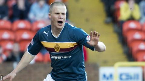 Henrik Ojamaa scored 13 goals during his time at Motherwell