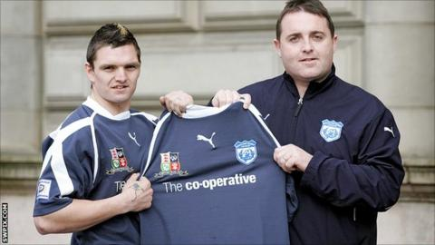 Danny Brough and Steve McCormack