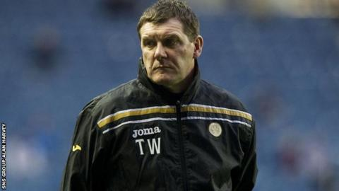 Tommy Wright is the new manager of St Johnstone