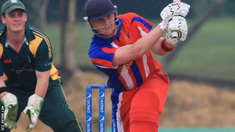 Ed Farley batting for Jersey