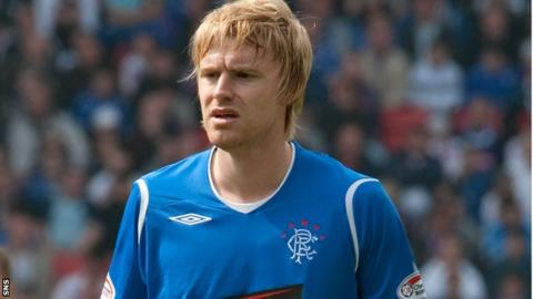 Rangers defender Stevie Smith