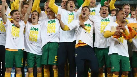 Australia qualify for World Cup 2014
