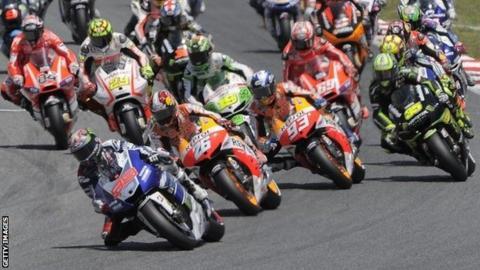 MotoGP field
