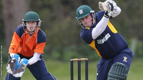 Tom Kimber has scored 107 runs in tow games for Miton