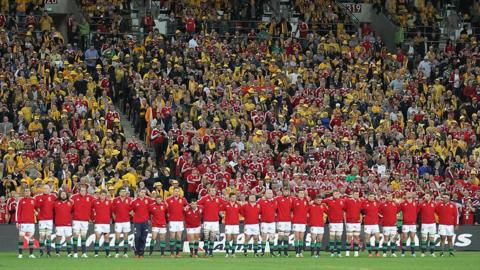 The Lions side
