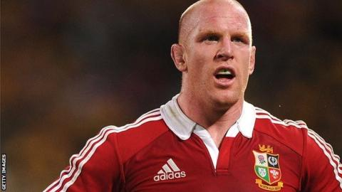 British & Irish Lions forward Paul O'Connell