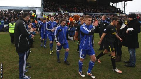 Macclesfield v Wigan