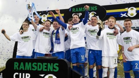 Queen of the South are the Ramsdens Cup holders