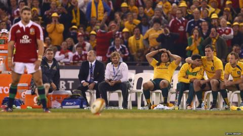 Australia v British Lions second Test Leigh Halfpenny