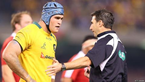 Australia v British Lions second Test