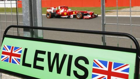British Grand Prix Fernando Alonso