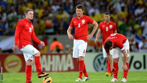 Wayne Rooney, MIchael Carrick and Frank Lampard