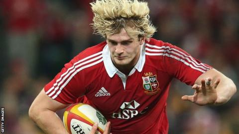 Scotland lock Richie Gray is on the Lions bench for Saturday's final Test