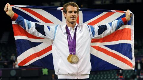 Andy Murray wins gold at the Olympics