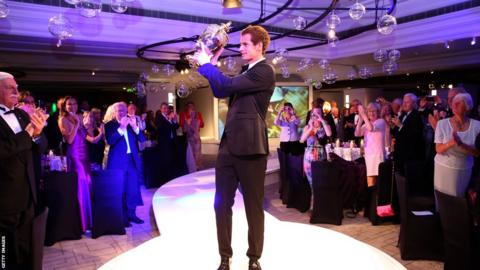 Andy Murray at Wimbledon 2013 Winners' Ball