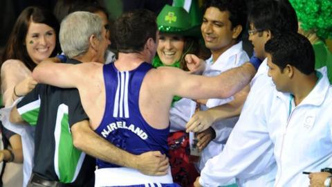 Northern Ireland boxer Eamonn O'Kane