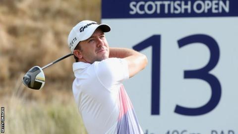 bbc sport golf scottish open leaderboard