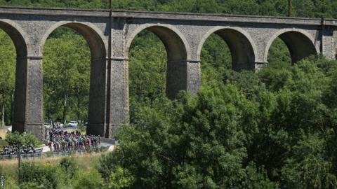 Stage seven of the 2013 Tour de France, a 205.5KM road stage from Montpellier to Albi