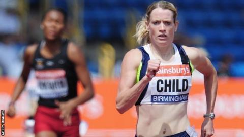 Scottish athlete Eilidh Child