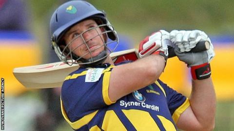 Jim Allenby hits out for Glamorgan