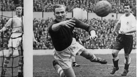 The later Bert Trautmann