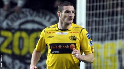 Elfsborg striker James Keene