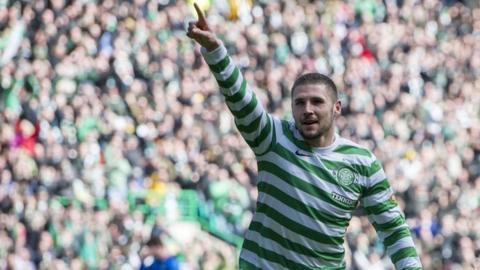 Celtic striker Gary Hooper