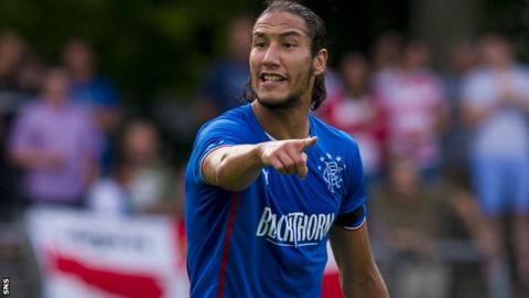 Bilel Mohsni has signed for Rangers
