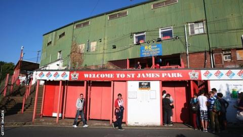 Exeter City's St James Park