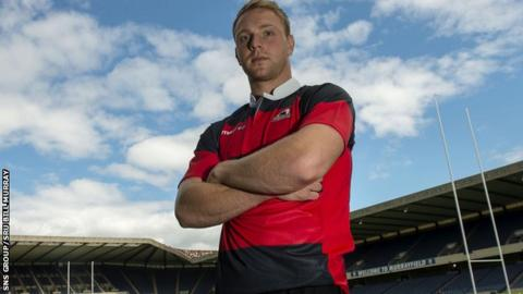 Edinburgh full-back Greig Tonks