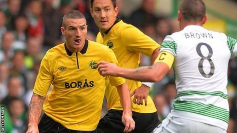 Elfsborg striker James Keene