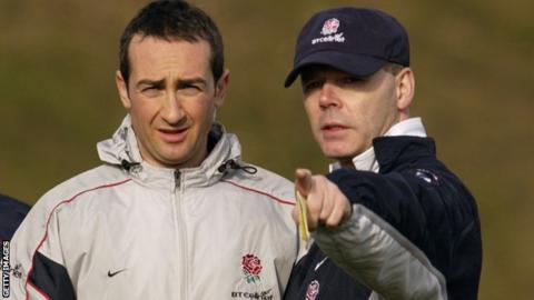 Dave Reddin and Sir Clive Woodward