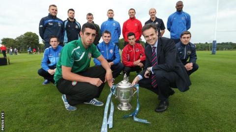 The Irish League season runs from August to April